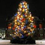 """Уважаемые посетители питомника """"Розовый сад"""", поздравляем Вас с наступающим Новым Годом и Рождеством!"""
